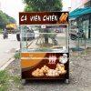 Xe bán cá viên chiên Quang Huy sản xuất
