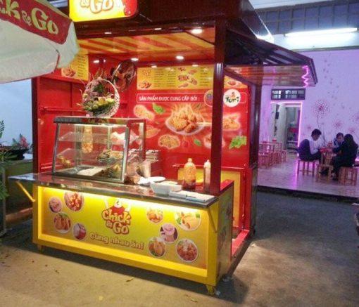 Xe bán gà rán Quang Huy