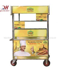 Xe bánh mì que BMQ Quang Huy