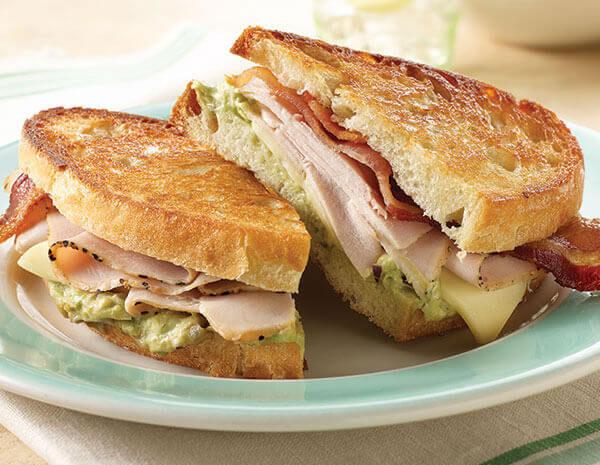 Bánh mì sanwich kẹp nóng