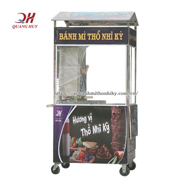 Quang Huy sản xuất xe bánh mì loại nhỏ giá rẻ