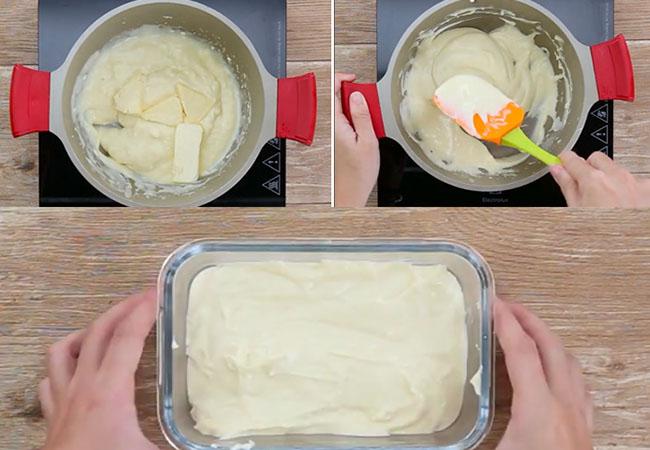 Cách làm sốt phô mai bơ tỏi nướng bánh mì