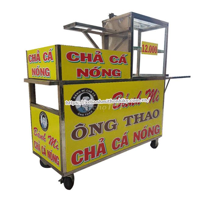 Tham khảo mẫu xe bánh mì chả cá được bán trên thị trường
