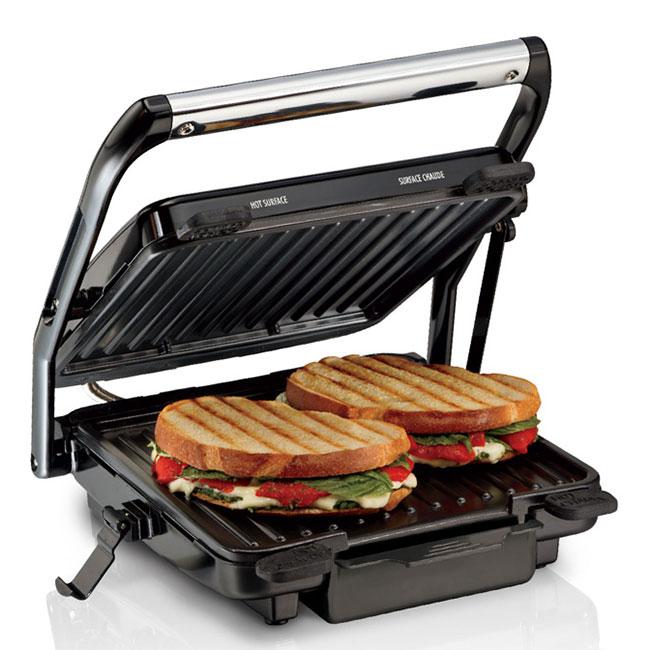 Máy ép kẹp nóng bánh mì ba tê