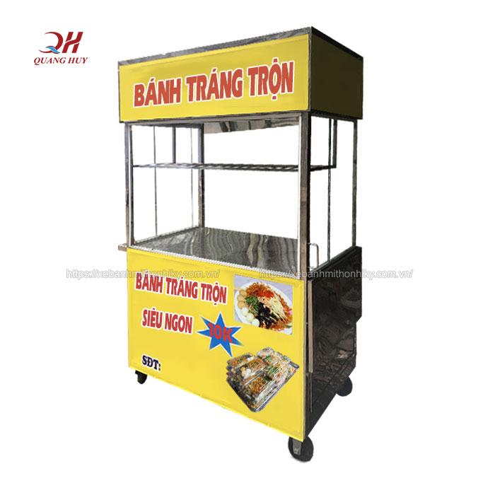Mua xe bánh tráng trộn giá rẻ tại Quang Huy