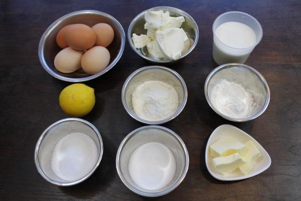 Một số nguyên liệu làm bánh mì nhân phô mai