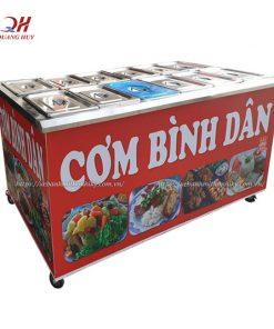 Tủ cơm bình dân Quang Huy
