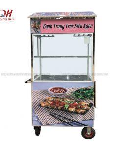 Xe bán bánh tráng trộn Quang Huy
