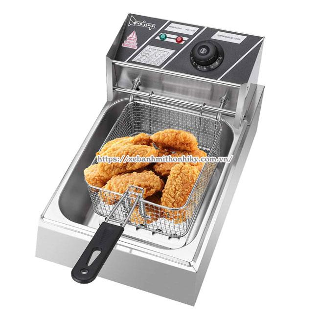 Bếp chiên nhúng điện chiên gà rán