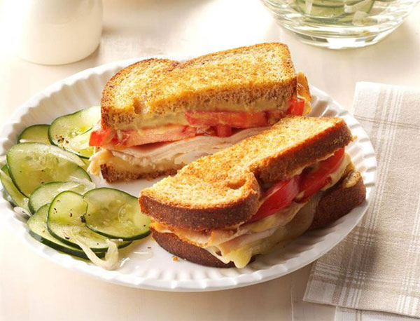 Công thức làm bánh mì sandwich kẹp trứng ăn sáng đơn giản
