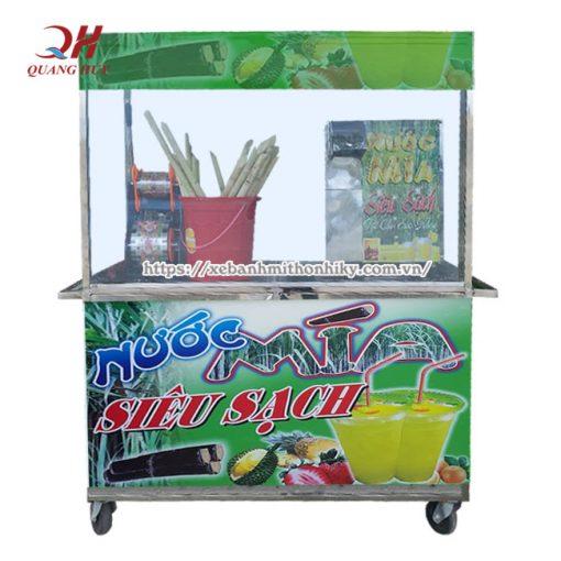 Báo giá xe nước mía siêu sạch Quang Huy