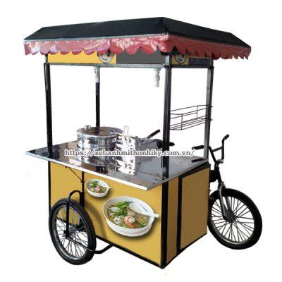 Mẫu xe đạp bán hủ tiếu vỉa hè