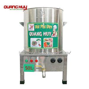 Nồi điện nấu phở 50 lit Quang Huy