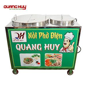 Nồi phở điện chung bệ Quang Huy