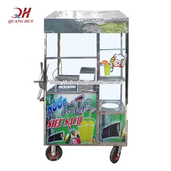 Xe nước mía quay tay giá rẻ tại Quang Huy