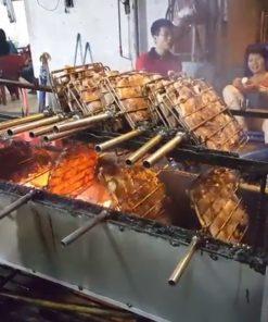 Nướng chín vịt gà nhanh chóng, số lượng lớn