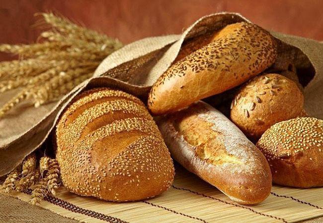 Thành quả món bánh mì nguyên cám