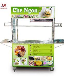 Xe bán chè Inox Quang Huy