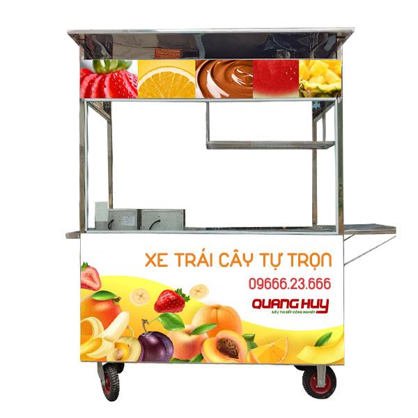 Mẫu xe bán trái cây tự chọn Quang Huy