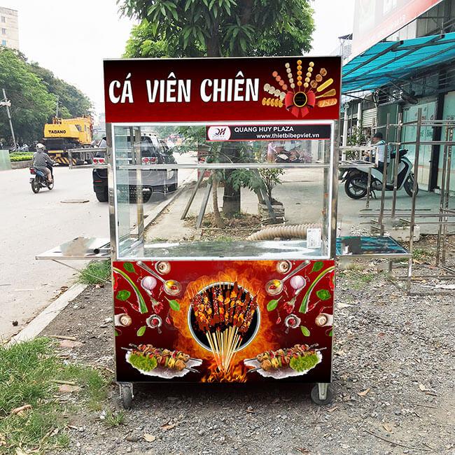 Quang Huy - địa chỉ mua xe cá viên chiên chất lượng, giá tốt