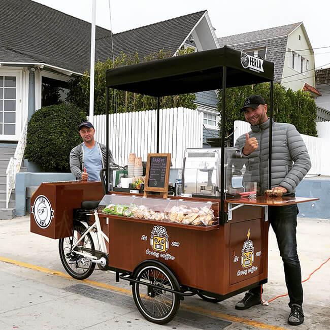 Địa chỉ mua xe đạp bán cafe lưu động uy tín chất lượng cao