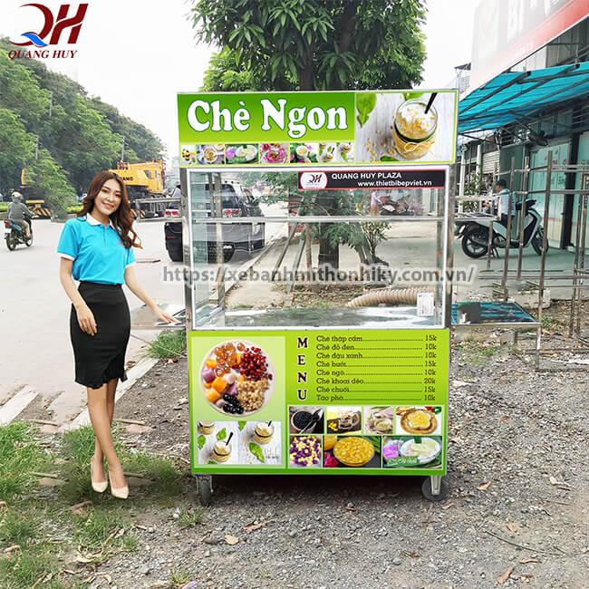 Mẫu tủ bán chè đẹp Quang Huy