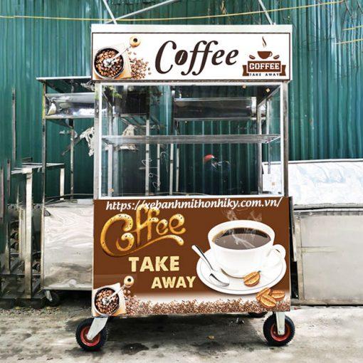 mẫu xe bán cafe take away đẹp, thu hút