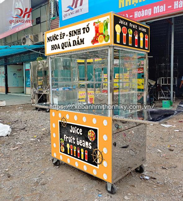 Mẫu xe bán sinh tố đẹp giá rẻ chỉ có tại Quang Huy