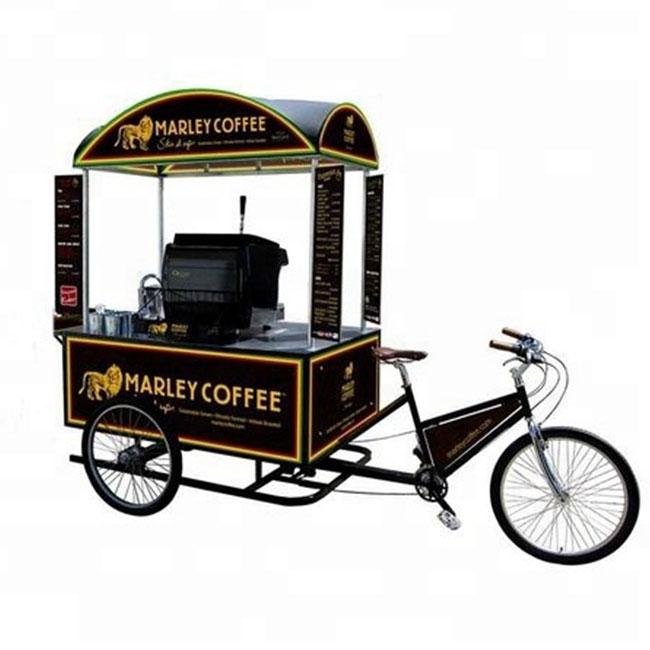 Mẫu xe đạp bán cafe lưu động