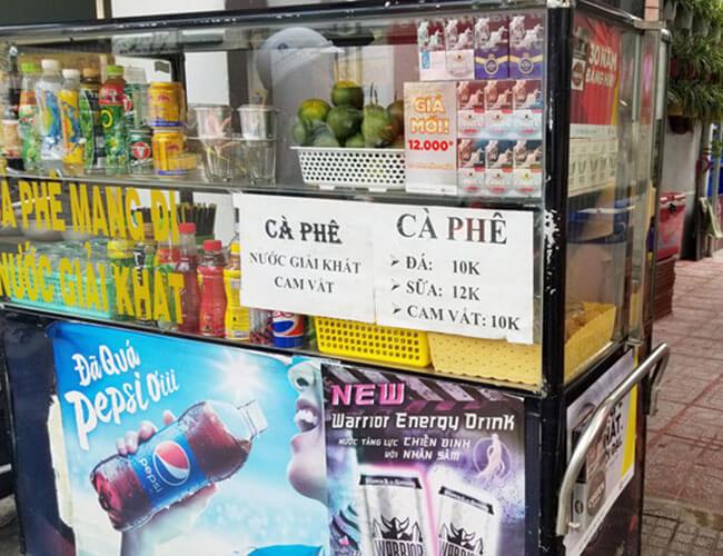 Những nhược điểm tai hại khi mua xe bán cafe mang đi cũ
