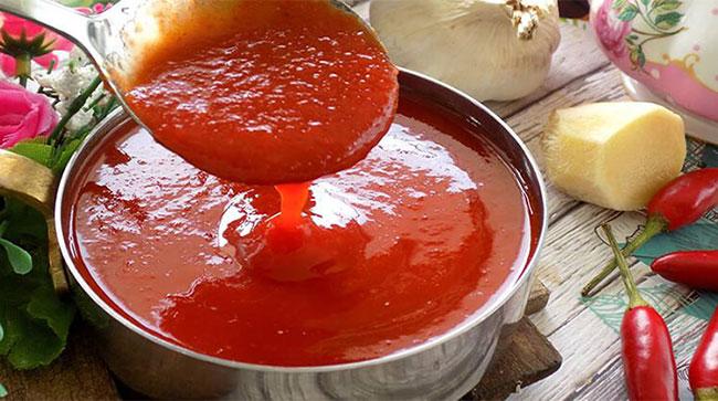 Nước sốt bánh mì thịt nướng chua chua cay cay