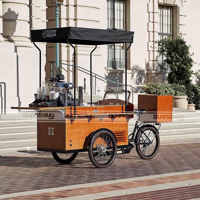 Thiết kế xe đạp bán cafe theo yêu cầu