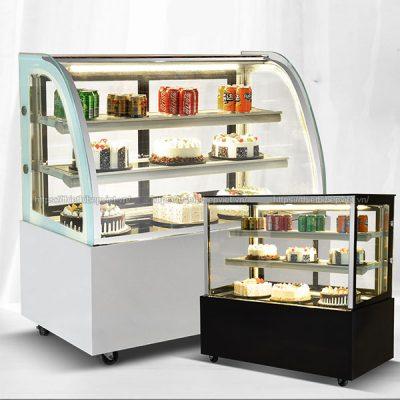 Tủ bánh kem giúp trưng bày và bảo quản bánh kem lâu hơn