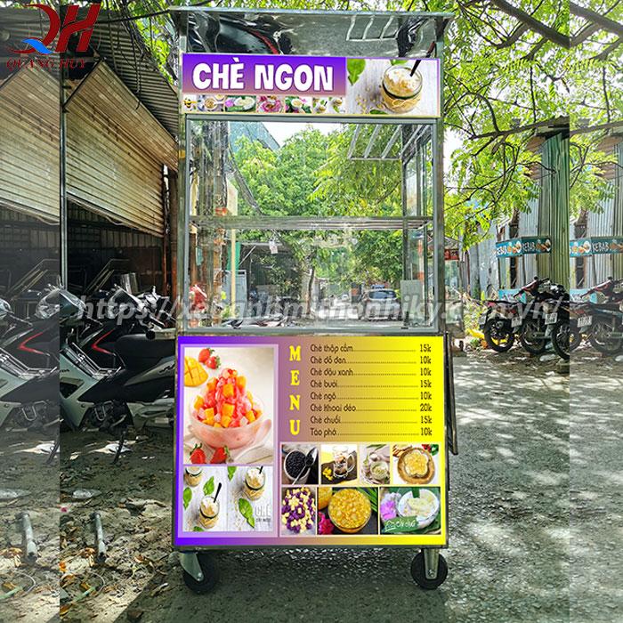 Tủ quầy bán chè Quang Huy Inox 304