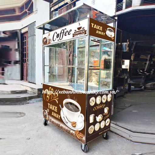 Xe bán cafe mang đi Quang Huy sản xuất
