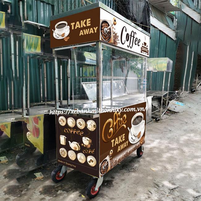 Xe đẩy bán cafe mang đi take away