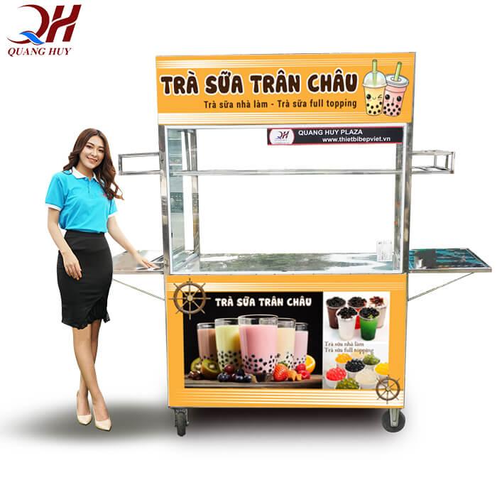 Quang Huy - địa chỉ thiết kế xe trà sữa đẹp, ấn tượng