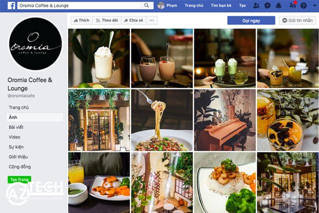 Quảng cáo quán cafe qua mạng xã hội