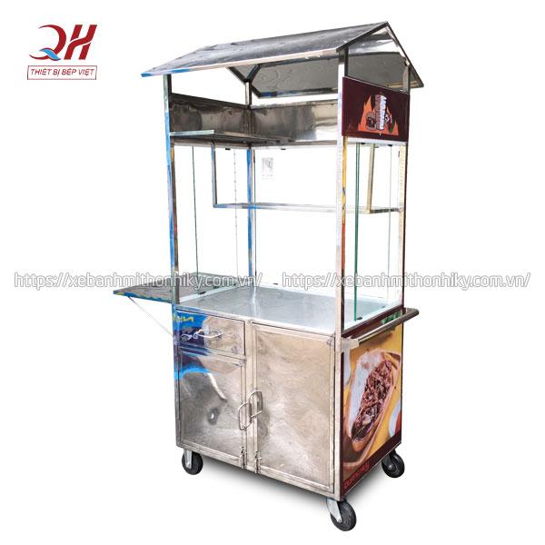 Khung tủ xe đẩy bánh mì Inox 304 không gỉ sét