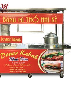 Xe bán xôi mặn Doner Kebab Quang Huy