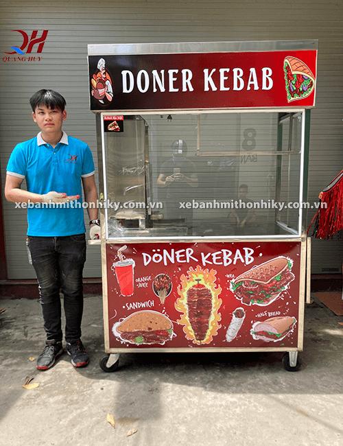 Xe bánh mì đẹp Quang Huy