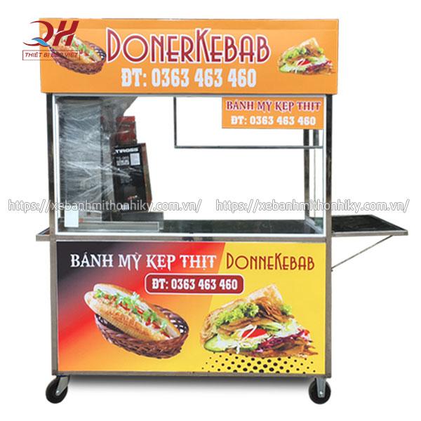 Mẫu tủ kính bán bánh mì Thổ Nhĩ Kỳ