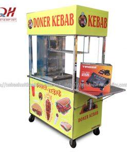 Xe bán bánh mì 1m3 Quang Huy