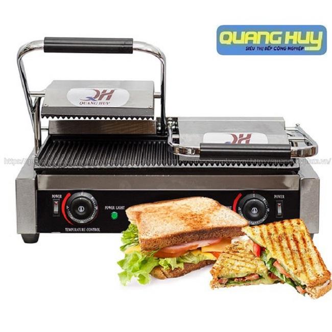 Máy kẹp bánh mì là giải pháp hữu dụng giúp bánh mì của bạn trở nên thơm ngon