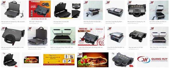 Các thiết kế máy làm nóng bánh mì