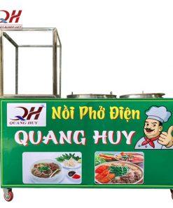 Tủ kính bán bún phở Quang Huy