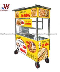 Đây là một trong những mẫu xe bán bánh mì que đang được ưa chuộng nhất hiện nay