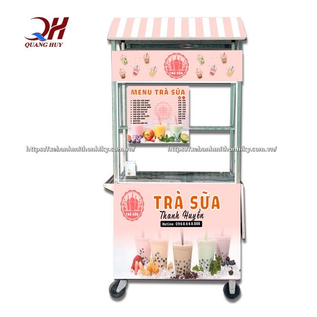 Xe trà sữa có thiết kế trẻ trung hiện đại thu hút nhiều đối tượng khách hàng