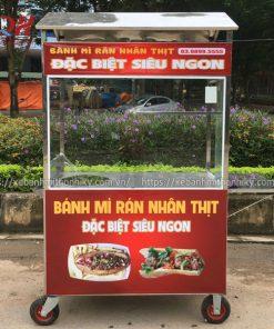 Quang Huy sản xuất và phân phối xe bánh mì rán Toàn quốc