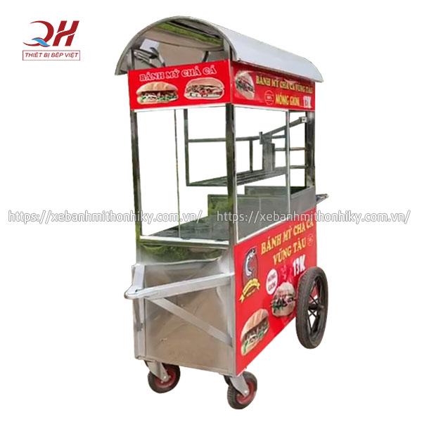Tủ xe bán bánh mì chả cá Vũng Tàu